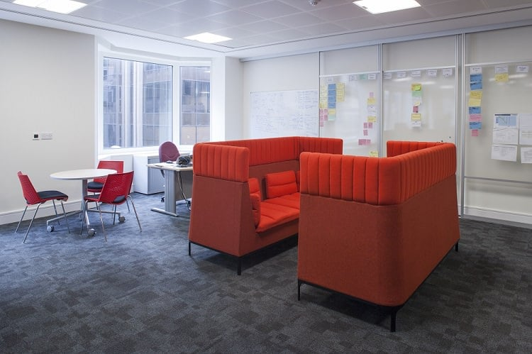 Sliding space dividers installed in Newcastle