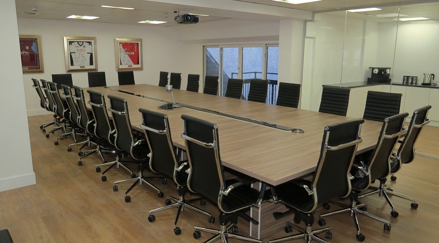 High back boardroom chairs