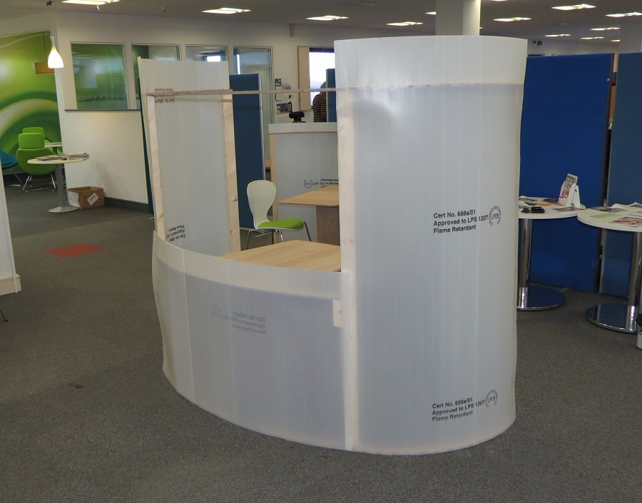 Acoustic Meeting Pods Mock-Up