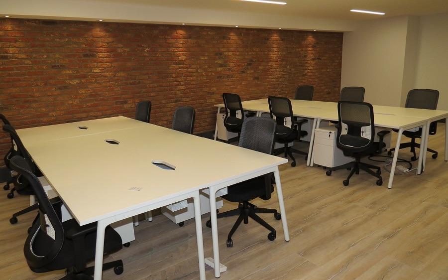 bench style office desks