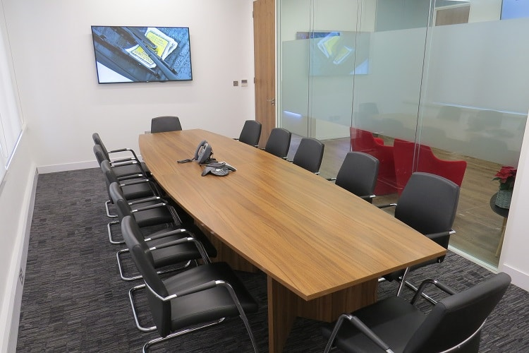 solicitors conference room table