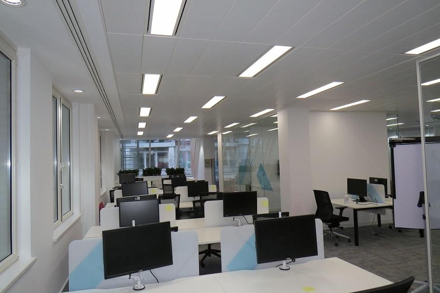modern office design white