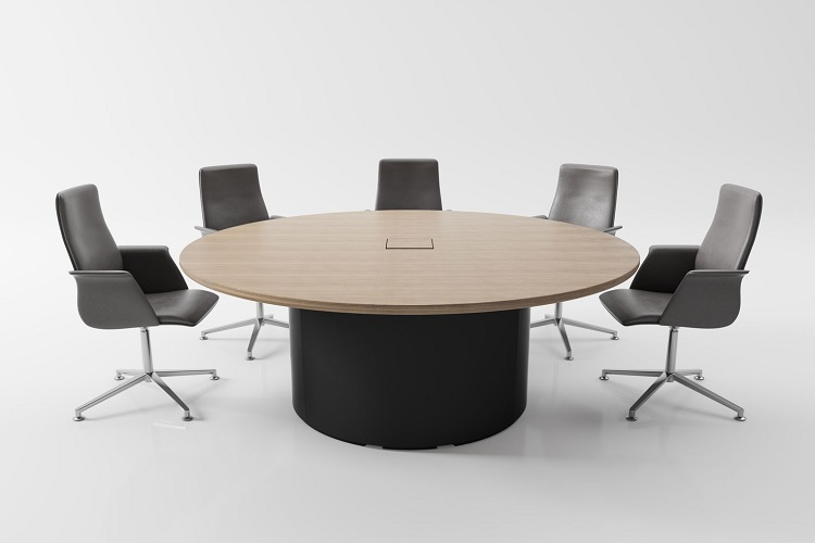 Round Meeting Tables, Round Office Table