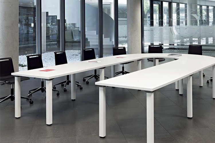 collapsible conference tables fusion