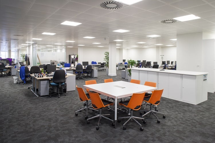 open plan office design ideas portfolio fusion
