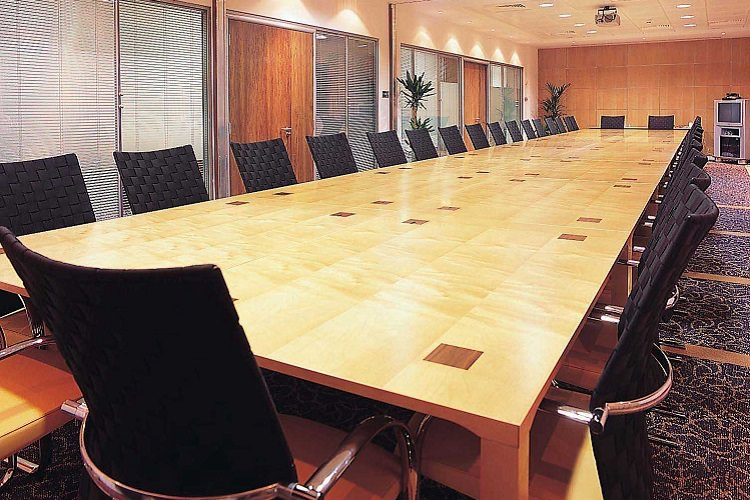 Multi Section Conference Tables Sectional Tables Fusion - Sectional conference table