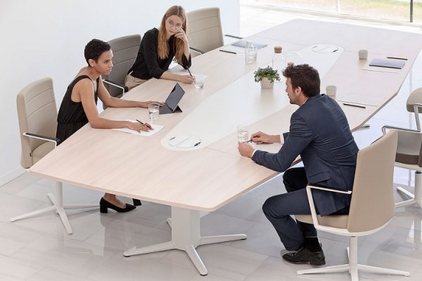 electric height adjustable meeting tables