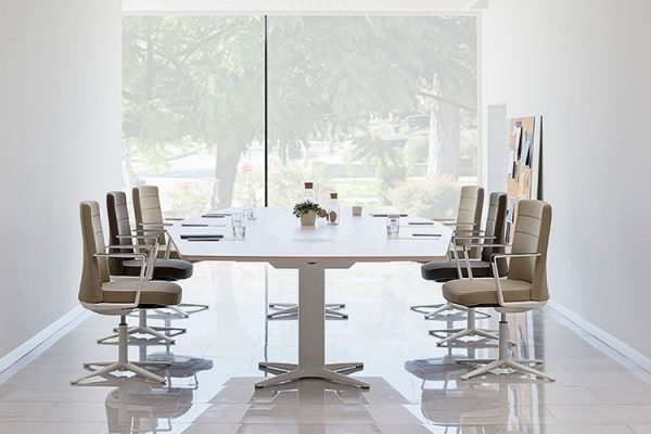 electric sit stand meeting tables