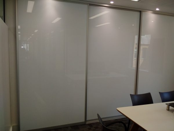 multiple sliding whiteboards system