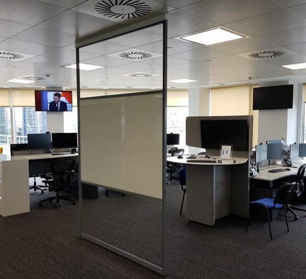 freestanding whiteboard partition