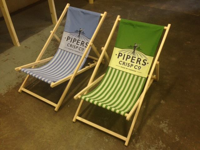Branded Deck Chairs